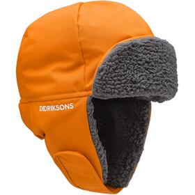 DIDRIKSONS Biggles 4 Cap Kids, oranje